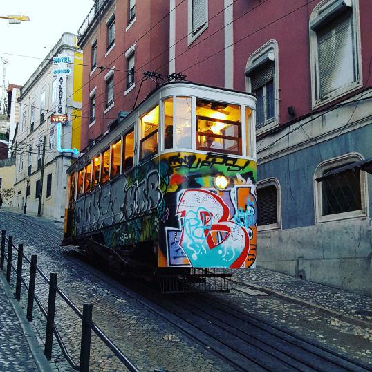 Tram - Lisbon Revisited